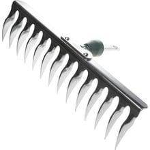 Грабли садовые, оцинков., 14 витых зубцов RACO 4230-53848