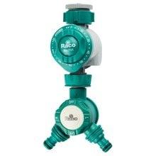 Таймер для подачи воды, механический, в комплекте с распределителем двухканальным, 3/4х1 RACO 4275-55/732D