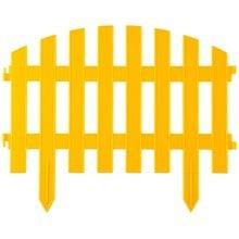 Забор декоративный, желтый GRINDA Ар деко 422203-Y