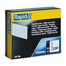 Гвозди 35 мм супертвердые закаленные тип 23P, 10000 шт. Rapid  5001362