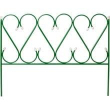 Забор декоративный GRINDA РЕНЕССАНС, металлический, 50x345см 422263