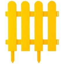 Забор декоративный, желтый GRINDA Штакетник 422209-Y