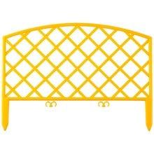 Забор декоративный, желтый GRINDA Плетень 422207-Y