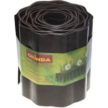 Лента бордюрная, коричневая, 20 см GRINDA 422247-20