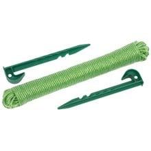 Набор садовых колышков с веревкой GRINDA 8-422363-H3