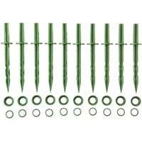 Колышки садовые GRINDA 200мм, цвет зеленый, 10шт 422319