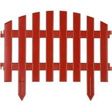 Забор декоративный, терракот GRINDA Ар деко 422203-T