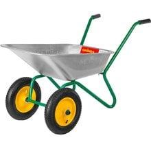 Тачка садовая, двухколесная, 80 л, 120 кг GRINDA 422400_z01