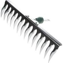 Грабли садовые оцинкованные, 12 витых зубцов RACO 4230-53847