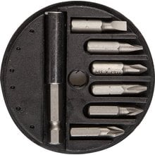 Набор бит с магнитным адаптером 7 предметов STAYER MASTER 2607-H7_z01