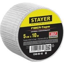 Серпянка самоклеящаяся FIBER-Tape, 5 см х 10м, STAYER Professional 1246-05-10_z01