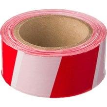 Сигнальная лента красно-белая 50 мм 150 м STAYER MASTER 12241-50-150