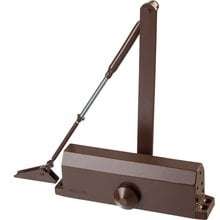Доводчик дверной до 100 кг цвет коричневый STAYER 37917-100