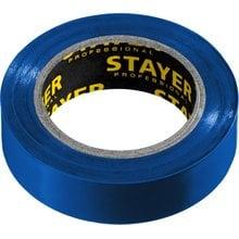 Изолента ПВХ, не поддерживает горение, 10 м (0,13х15 мм) синяя STAYER 12291-B