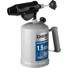 Лампа паяльная стальная бензиновая СИБИН 40670