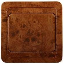 Выключатель ГАММА одноклавишный, цвет орех, 10A/~250B СВЕТОЗАР SV-54130-N