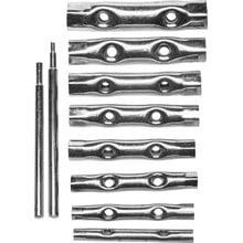 Ключи трубчатые, 6-22 мм, 10 предметов DEXX 27192-H10