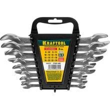Набор рожковых ключей 8 предметов 8-24 мм Kraftool EXPERT 27033-H8C