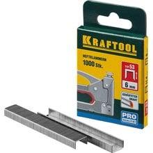 Скобы тип 53 18 мм 1000 шт. Kraftool EXPERT 31670-18