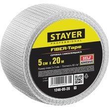 Серпянка самоклеящаяся FIBER-Tape, 5 см х 20м, STAYER Professional 1246-05-20_z01
