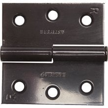 Петля дверная разъемная правая цвет коричневый 75 мм STAYER MASTER 37613-75-3R