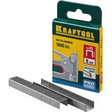 Скобы тип 53 8 мм 1000 шт. Kraftool EXPERT 31670-08
