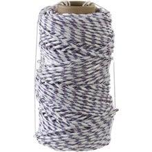 Фал плетёный полипропиленовый с сердечником 320 кгс 6 мм 100 м СИБИН 50215-06