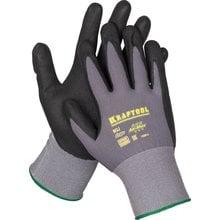 Перчатки нейлоновые с покрытием размер L Kraftool EXPERT 11285-L