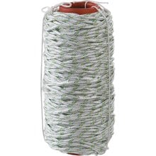 Фал плетёный капроновый с сердечником 650 кгс 6 мм 100 м СИБИН 50220-06