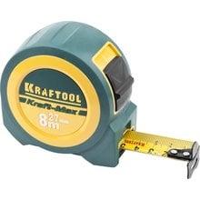 Рулетка 8 м x 27 мм Kraftool Kraft-Max 34127-08-27