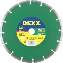 Круг отрезной алмазный DEXX 36701-230_z01