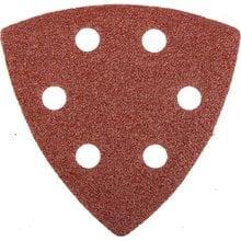 Треугольник шлифовальный универсальный на велкро основе, 6 отверстий, Р60, 93х93х93мм, 5шт STAYER 35460-060