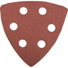 Треугольник шлифовальный универсальный на велкро основе, 6 отверстий, Р320, 93х93х93мм, 5шт STAYER 35460-320