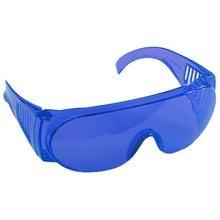 Очки защитные голубая поликарбонатная монолинза STAYER STANDART 11047