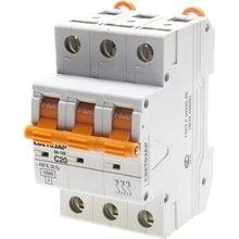 Автоматический выключатель 3-полюсный 20А 10кА СВЕТОЗАР SV-49073-20-C