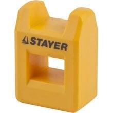 Намагничиватель-размагничиватель для отверток и бит STAYER PROFI 25999_z01