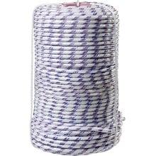 Фал плетёный полипропиленовый с сердечником 520 кгс 8 мм 100 м СИБИН 50215-08