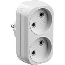 Разветвитель электрический MAXElectro, STAYER 55087-2, 2 гнезда, 10А/220В STAYER 55087-2