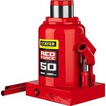 Домкрат гидравлический бутылочный 50 т 300-480 мм STAYER RED FORCE 43160-50_z01
