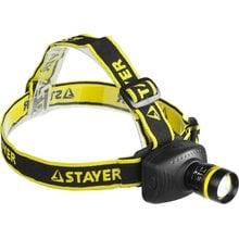 Светодиодный налобный фонарь STAYER PROFESSIONAL PROLIGHT 56566