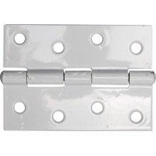 Петля дверная универсальная цвет белый 100 мм STAYER MASTER 37611-100-2