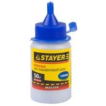 Краска для разметочных шнуров синяя 50 г STAYER 0640-1_z01