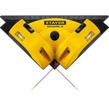 Угольник лазерный для кафеля STAYER SQUARE-8 34928