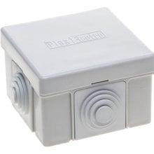 Коробка распределительная для наружного монтажа, макс. напряжение 400В, IP 54, 4 ввода, 65х65х40мм СВЕТОЗАР SV-54954