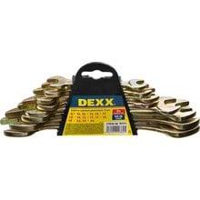 Набор рожковых гаечных ключей 8 шт, 8 - 24 мм, DEXX 27018-H8