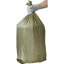 Мешки полипропиленовые хозяйственные зеленые 95х55 см 70 л 10 шт STAYER 39158-95