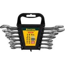Набор рожковых ключей 6 предметов 8-19 мм Kraftool EXPERT 27033-H6C