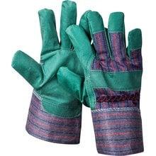 Перчатки из искусственной кожи зеленые размер XL STAYER 1132-XL