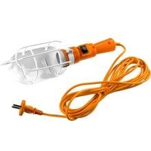 Светильник переносной 60 Вт 5 м с выключателем СИБИН 56064-60-5