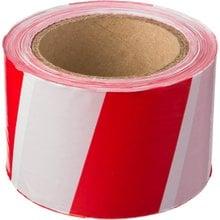 Сигнальная лента красно-белая 75 мм 150 м STAYER MASTER 12241-75-150